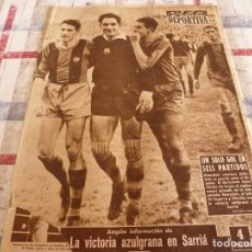 Collectionnisme sportif: VIDA DEPORTIVA Nº:683(20-10-58)!!!ESPAÑA 6 IRLANDA 2 !!!ESPAÑOL 0 BARÇA 3 !!!BASKET AISMALIBAR. Lote 95611999
