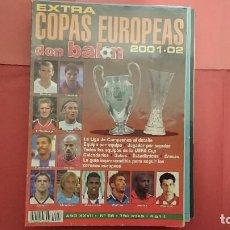 Coleccionismo deportivo: EXTRA COPAS EUROPEAS DON BALÓN 2001-02 EXTRA Nº 56. Lote 95735943