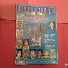 Coleccionismo deportivo: DON BALÓN EXTRA COPAS EUROPEAS 1999-2000 . Lote 95737375