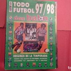 Coleccionismo deportivo: DON BALÓN TODO FUTBOL 97-98 RESUMEN DE LA TEMPORADA. Lote 95737503