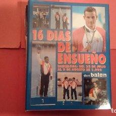 Coleccionismo deportivo: DON BALÓN BARCELONA 92 16 DÍAS DE ENSUEÑO LIBRO. Lote 95737915