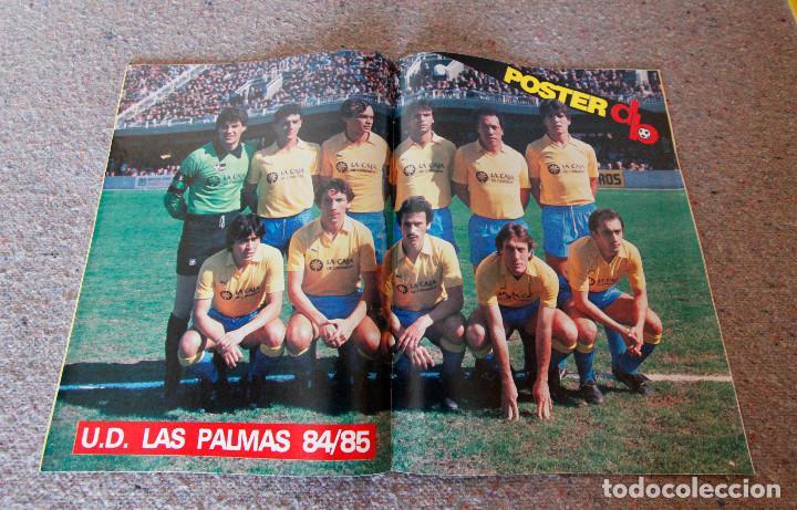Coleccionismo deportivo: Revista Don Balón Nº 504 - 1985 - Schuster, Migueli, poster U.D. Las Palmas - Muy buen estado - Foto 2 - 95865763