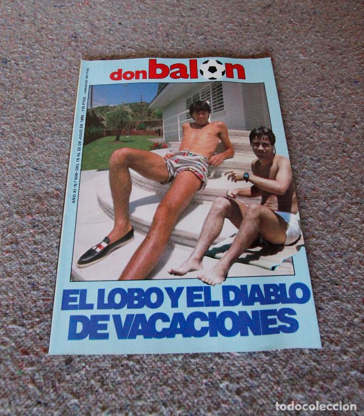 REVISTA DON BALÓN Nº 509 - 1985 - LOPEZ UFARTE, JULIO SALINAS - MUY BUEN ESTADO (Coleccionismo Deportivo - Revistas y Periódicos - Don Balón)