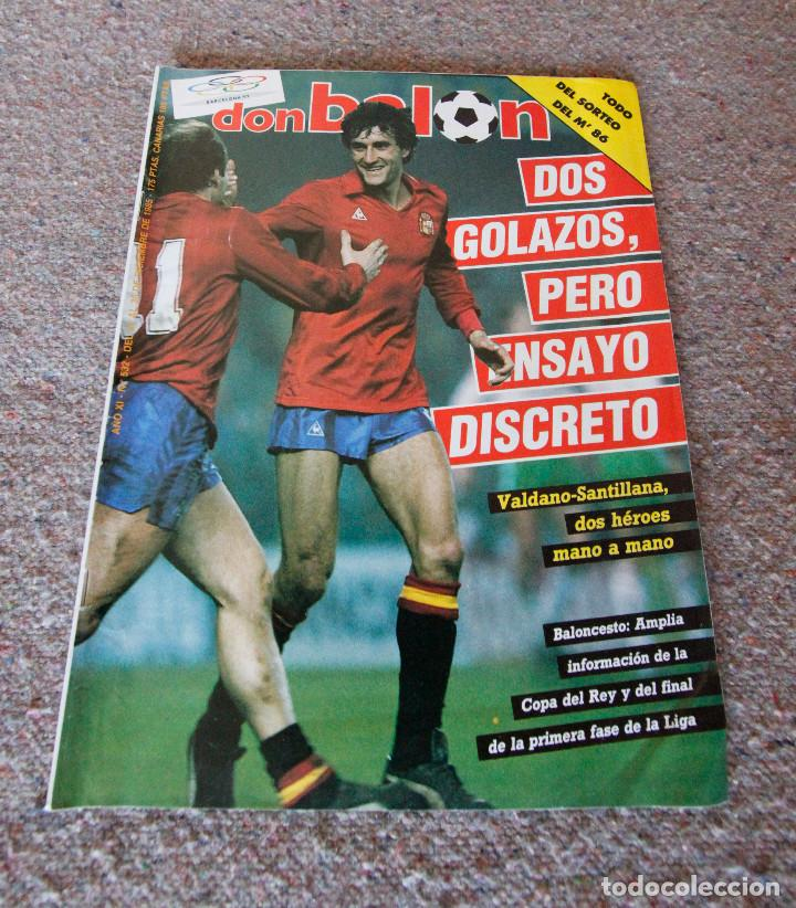 REVISTA DON BALÓN Nº 532 - 1985 - SELECCIÓN ESPAÑOLA - MUY BUEN ESTADO (Coleccionismo Deportivo - Revistas y Periódicos - Don Balón)