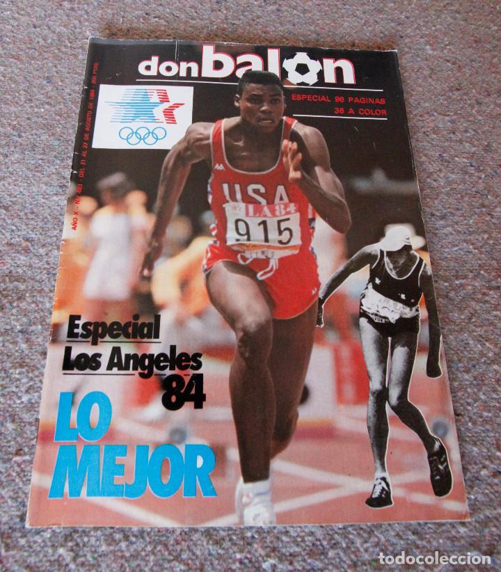 REVISTA DON BALÓN Nº 483 - 1984 - ESPECIAL LOS ANGELES 84 - MUY BUEN ESTADO (Coleccionismo Deportivo - Revistas y Periódicos - Don Balón)