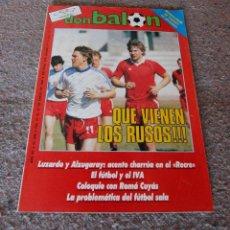 Coleccionismo deportivo: REVISTA DON BALÓN Nº 536 - 1986 - QUE VIENEN LOS RUSOS - MUY BUEN ESTADO. Lote 95869371