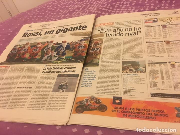 Coleccionismo deportivo: Alonso campeón periódico rossi 2005 26-09-2005 difícil - Foto 2 - 96638723