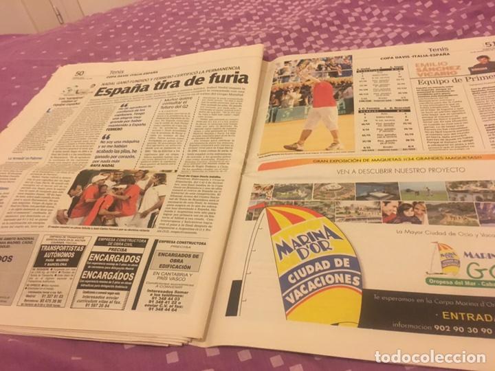 Coleccionismo deportivo: Alonso campeón periódico rossi 2005 26-09-2005 difícil - Foto 5 - 96638723