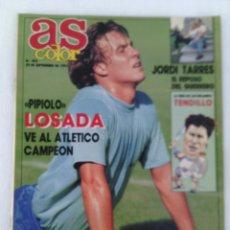 Coleccionismo deportivo: REVISTA AS COLOR N°300 AÑO 1991.LOSADA.TENDILLO.. Lote 96839174
