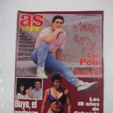 Coleccionismo deportivo: REVISTA AS COLOR. Nº 123. 12 DE JUNIO DE 1988. CON POLI DIAZ EN VALLECAS. TDKR42. Lote 176473570
