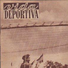 Coleccionismo deportivo - REVISTA DEPORTIVA VIDA DEPORTIVA 12-6-1951 - 97281799