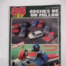Coleccionismo deportivo: REVISTA AS COLOR. Nº 115. 10 DE ABRIL DE 1988. COCHES DE UN MILLON. MOTOS FRECCIA. TDKR42. Lote 97303895