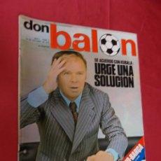 Coleccionismo deportivo: DON BALON. Nº 2 . 14 OCTUBRE 1975 . CON POSTER DE BREITNER. Lote 97772719