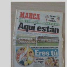 Coleccionismo deportivo: PERIODICO MARCA 18 JULIO 1996..MIGUEL INDURAIN. Lote 97778239