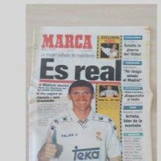 Coleccionismo deportivo: PERIODICO MARCA 3 JULIO 1996.MIJATOVIS ES REAL. Lote 97779003