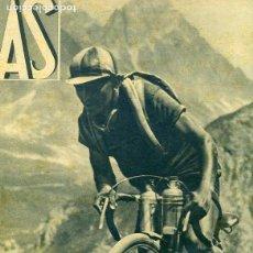 Coleccionismo deportivo: REVISTA DEPORTIVA AS Nº58 1933 BOXEO PESOS FUERTES. Lote 97782123