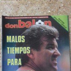 Coleccionismo deportivo: DON BALON Nº 623. POSTER ATH.BILBAO Y SEVILLA F.C. 87-88. Lote 97903007