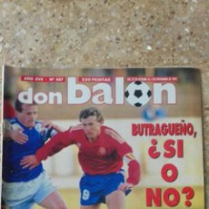 Coleccionismo deportivo: DON BALON Nº 887. POSTER MARADONA (SEVILLA F.C. 92-93).. Lote 97903323