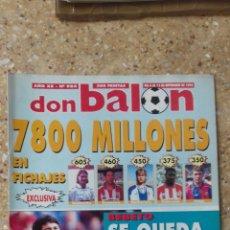 Coleccionismo deportivo: DON BALON Nº 984. POSTER F.C. BARCELONA. CAMPEON SUPERCOPA 93-94.. Lote 97904075