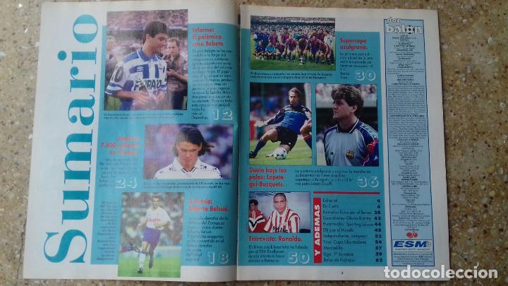 Coleccionismo deportivo: DON BALON Nº 984. POSTER F.C. BARCELONA. CAMPEON SUPERCOPA 93-94. - Foto 4 - 97904075