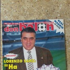 Coleccionismo deportivo: DON BALON Nº 1046. POSTER REAL MADRID 95-96.. Lote 97905903