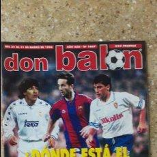 Coleccionismo deportivo: DON BALON Nº 1067. POSTER ATH.BILBAO 95-96.. Lote 97907043
