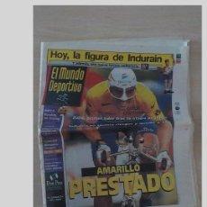 Coleccionismo deportivo: EL MUNDO DPORTIVO.MIGUEL INDURAIN.AMARILLO PRESTADO. Lote 97950131