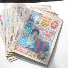 Coleccionismo deportivo: F.C. BARCELONA - 11 DIARIOS SPORT CON PORTADAS DE MARADONA -AÑO 1983 (10) + (1) 1984 -FOTOS DE TODOS. Lote 98076663