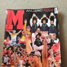 Coleccionismo deportivo: ANUARIO 2004 DIARIO MARCA - SUPLEMENTO ESPECIAL . Lote 98077191
