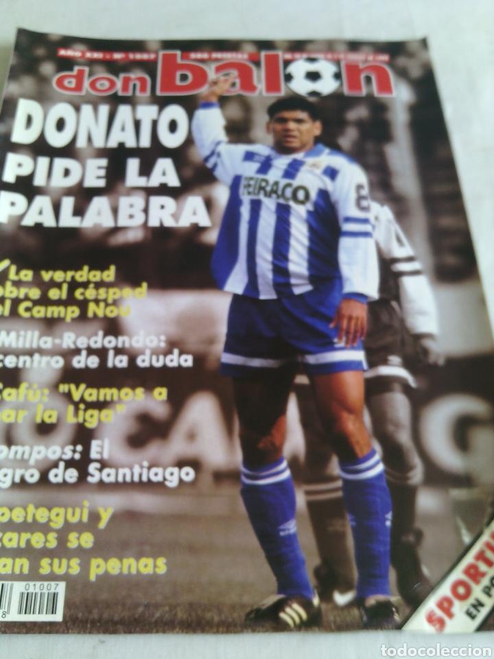 DON BALON N°1007 AÑO 1995 POSTER:SPORTING GIJON 94-95 (Coleccionismo Deportivo - Revistas y Periódicos - Don Balón)