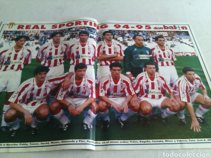 Coleccionismo deportivo: DON BALON N°1007 AÑO 1995 POSTER:SPORTING GIJON 94-95 - Foto 2 - 98083431