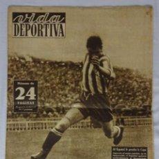 Coleccionismo deportivo: REVISTA VIDA DEPORTIVA. Nº MAYO 1949. GRANADA 2 BARCELONA 2. Lote 98208523