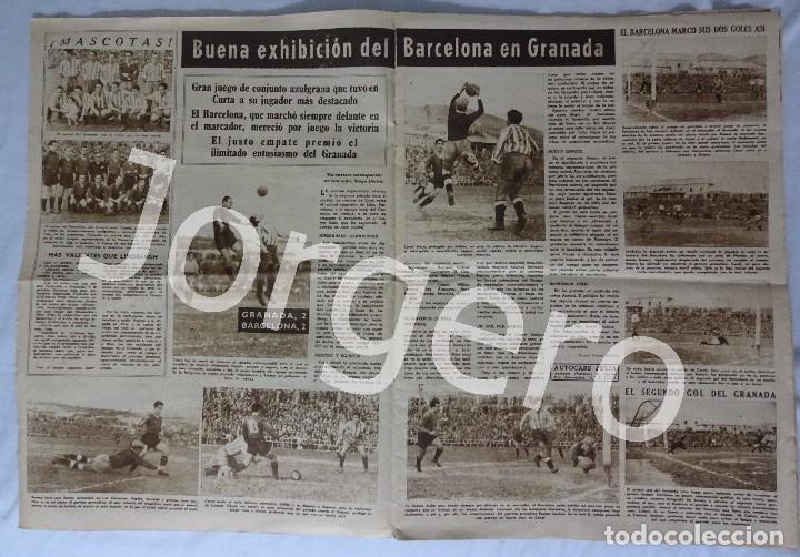 Coleccionismo deportivo: REVISTA VIDA DEPORTIVA. Nº MAYO 1949. GRANADA 2 BARCELONA 2 - Foto 2 - 98208523