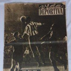 Coleccionismo deportivo: REVISTA VIDA DEPORTIVA. Nº DICIEMBRE 1948. ESPANYOL 1 BARCELONA 1. Lote 98212483