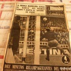 Coleccionismo deportivo: (BD)MUNDO DEPORTIVO(18-11-68)!!ESPAÑOL 3 AT.MADRID 2 !!LEVANTADOR PIEDRAS VASCO VA A BOXEAR,URTAIN.. Lote 98523515