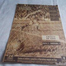 Coleccionismo deportivo: VIDA DEPORTIVA LUNES 10 NOVIEMBRE 1952. Lote 98542567