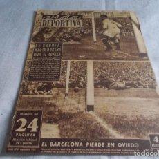 Coleccionismo deportivo: VIDA DEPORTIVA LUNES 22 DE SEPTIEMBRE 1952. Lote 98542759