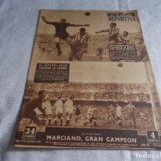 Coleccionismo deportivo: VIDA DEPORTIVA LUNES 29 DE SEPTIEMBRE 1952. Lote 98543127