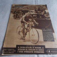 Coleccionismo deportivo: VIDA DEPORTIVA LUNES 20 DE JULIO DE1953. Lote 98544215