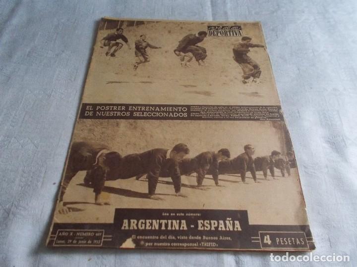 VIDA DEPORTIVA LUNES 29 DE JUNIO DE1953 (Coleccionismo Deportivo - Revistas y Periódicos - Vida Deportiva)