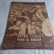 Coleccionismo deportivo: VIDA DEPORTIVA LUNES 22 DE JUNIO 1953. Lote 98545947