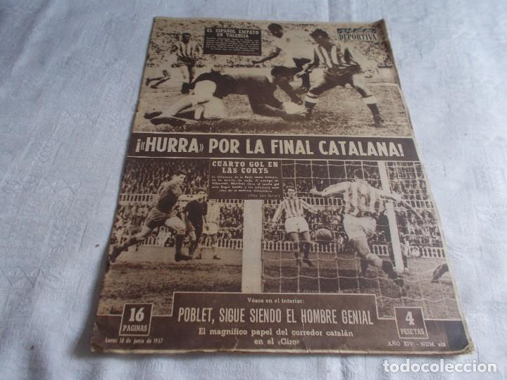 VIDA DEPORTIVA LUNES 10 DE JUNIO DE 1957 (Coleccionismo Deportivo - Revistas y Periódicos - Vida Deportiva)