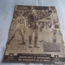 Coleccionismo deportivo: VIDA DEPORTIVA LUNES 3 DE JUNIO DE 1957. Lote 98546775