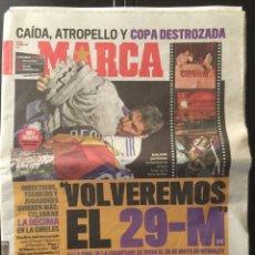 Coleccionismo deportivo: MARCA.22/11/2011. R.MADRID CAMPEÓN COPA DEL REY + PÓSTER. Lote 98565782