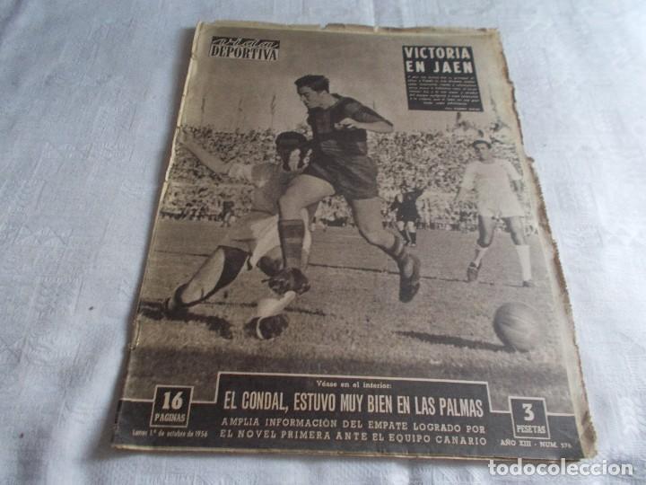 VIDA DEPORTIVA LUNES 1 DE OCTUBRE 1956 (Coleccionismo Deportivo - Revistas y Periódicos - Vida Deportiva)