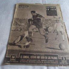 Coleccionismo deportivo: VIDA DEPORTIVA LUNES 1 DE OCTUBRE 1956 . Lote 98579927