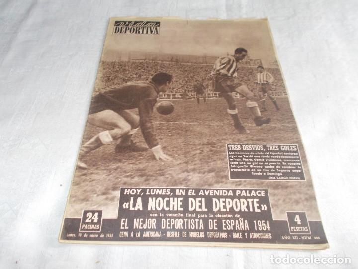 VIDA DEPORTIVA LUNES 10 DE ENERO DE 1955 (Coleccionismo Deportivo - Revistas y Periódicos - Vida Deportiva)