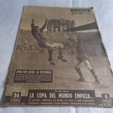 Coleccionismo deportivo - VIDA DEPORTIVA Lunes 14 de junio de 1954 - 98580491