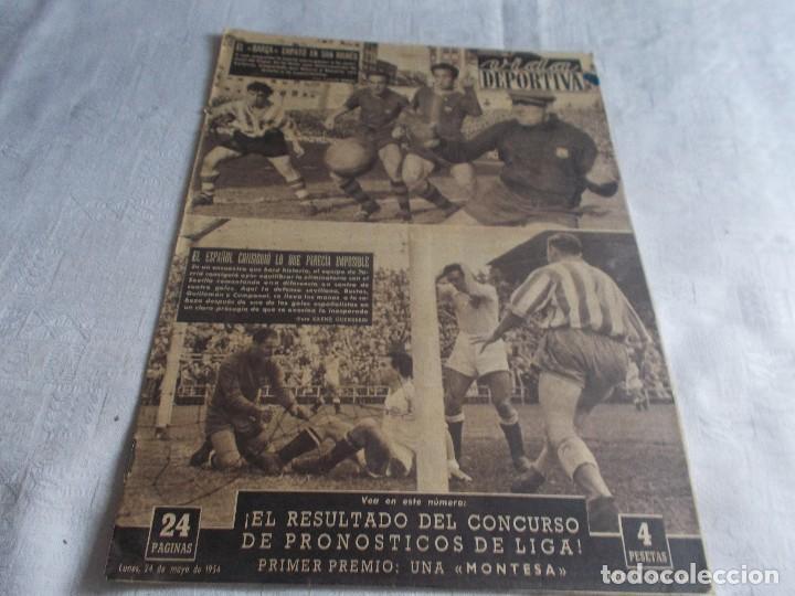 VIDA DEPORTIVA LUNES 24 DE MAYO 1954 (Coleccionismo Deportivo - Revistas y Periódicos - Vida Deportiva)
