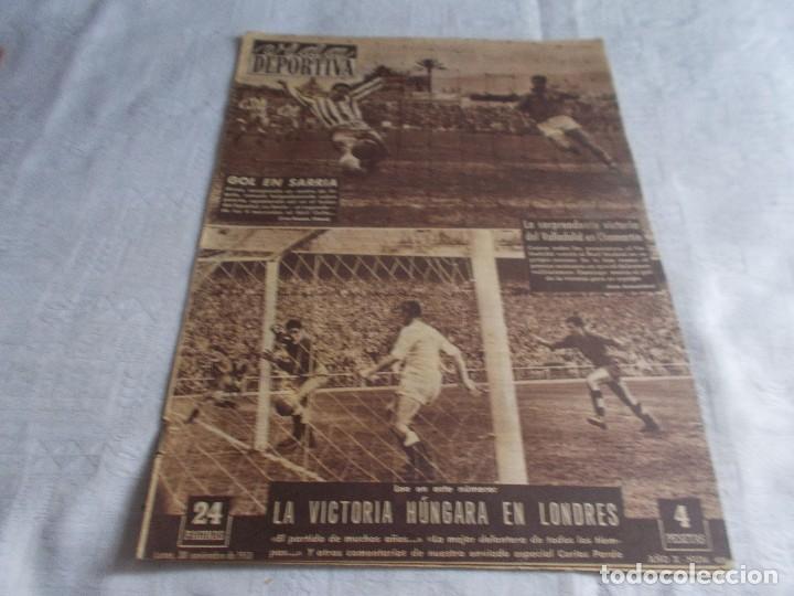 VIDA DEPORTIVA LUNES 30 DE NOVIEMBRE 1953 (Coleccionismo Deportivo - Revistas y Periódicos - Vida Deportiva)